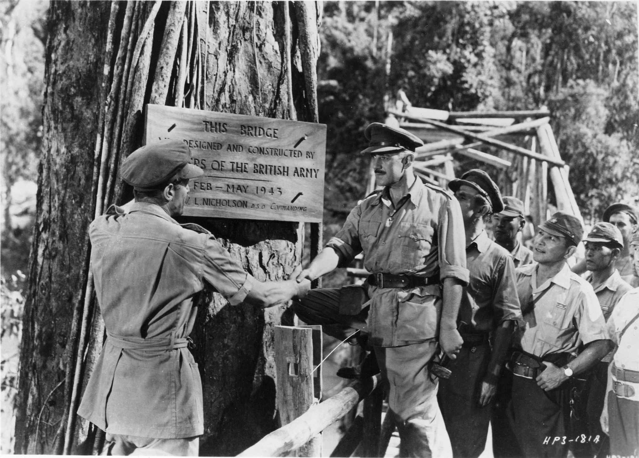 Still of Alec Guinness in The Bridge on the River Kwai (1957)
