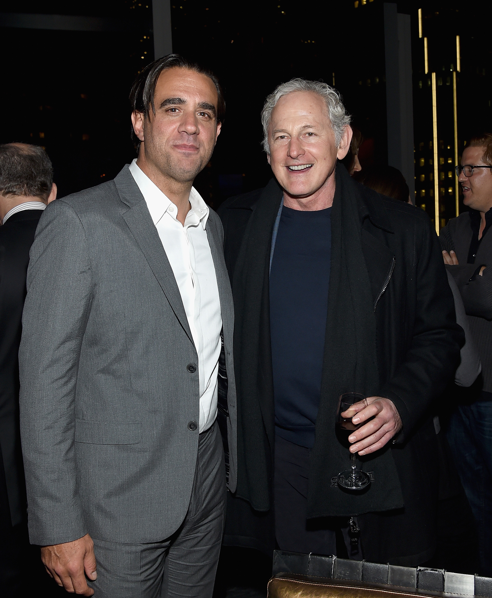 Victor Garber and Bobby Cannavale at event of Denis Kolinsas (2015)