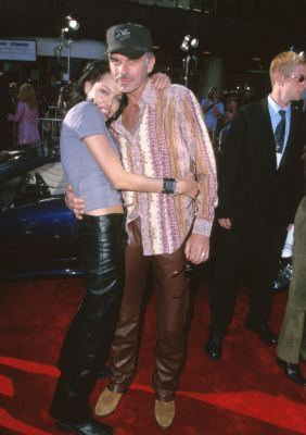 Billy Bob Thornton and Angelina Jolie at event of Gone in Sixty Seconds (2000)