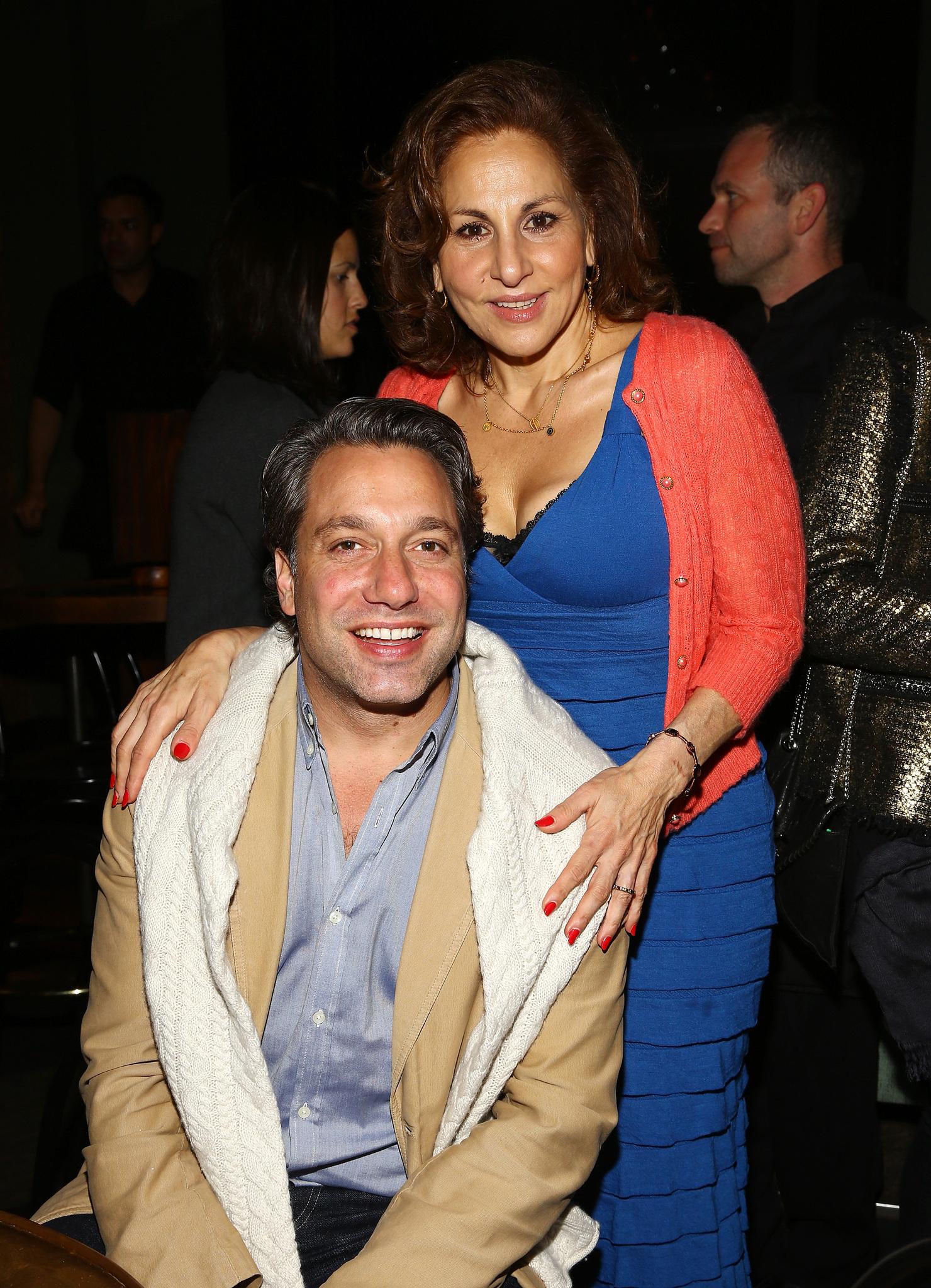 Kathy Najimy and Thom Filicia