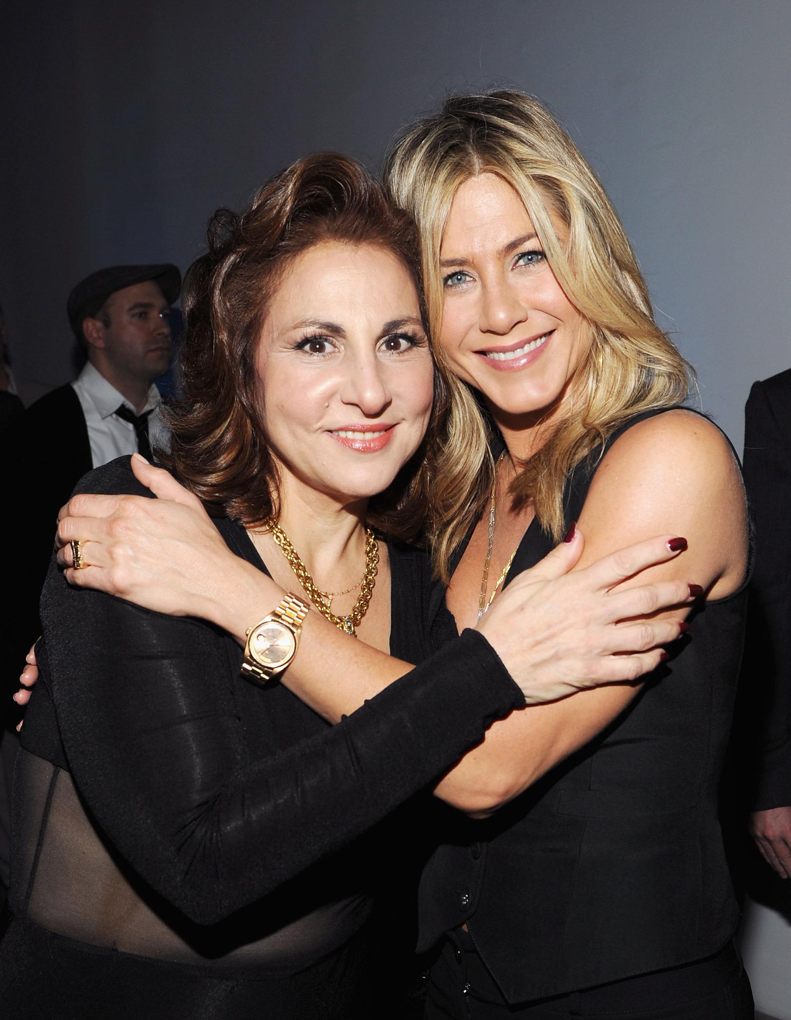 Jennifer Aniston and Kathy Najimy