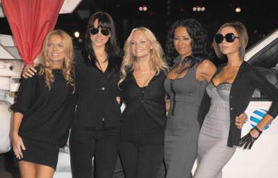 Geri Halliwell, Emma Bunton, Melanie Chisholm, Victoria Beckham, Melanie Brown and Spice Girls