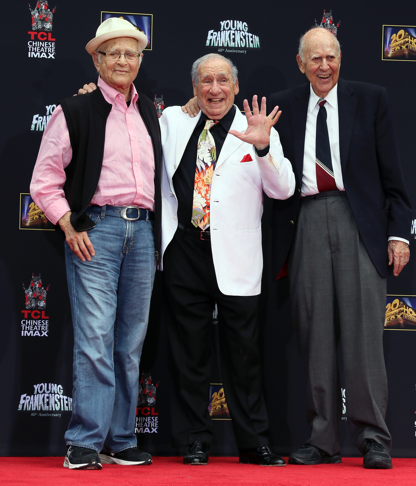 Mel Brooks, Norman Lear and Carl Reiner