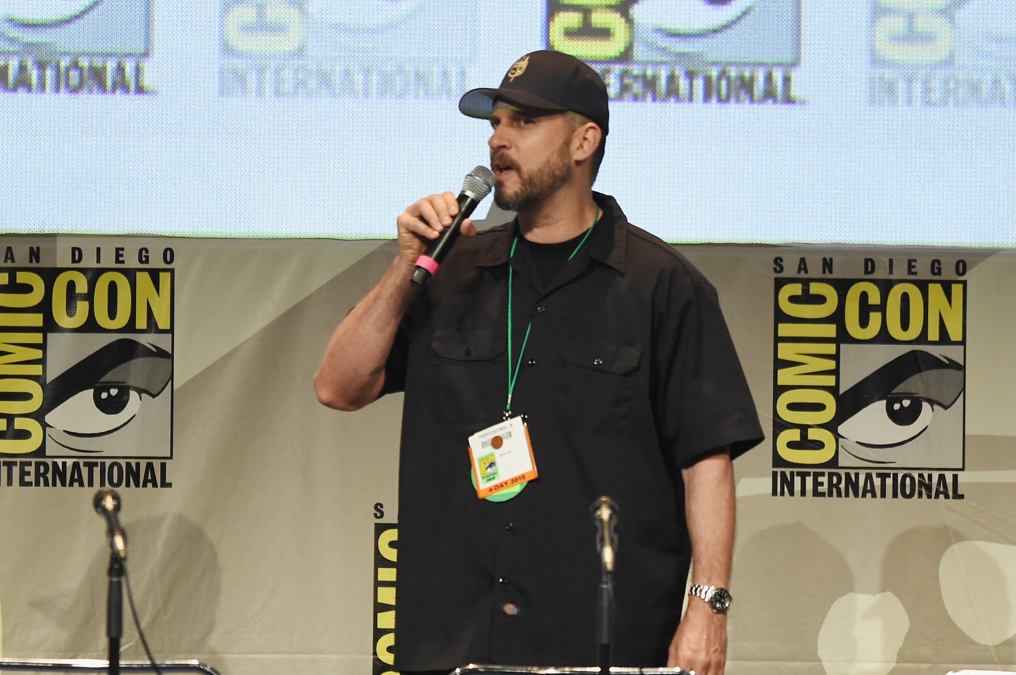 David Ayer at event of Suicide Squad (2016)