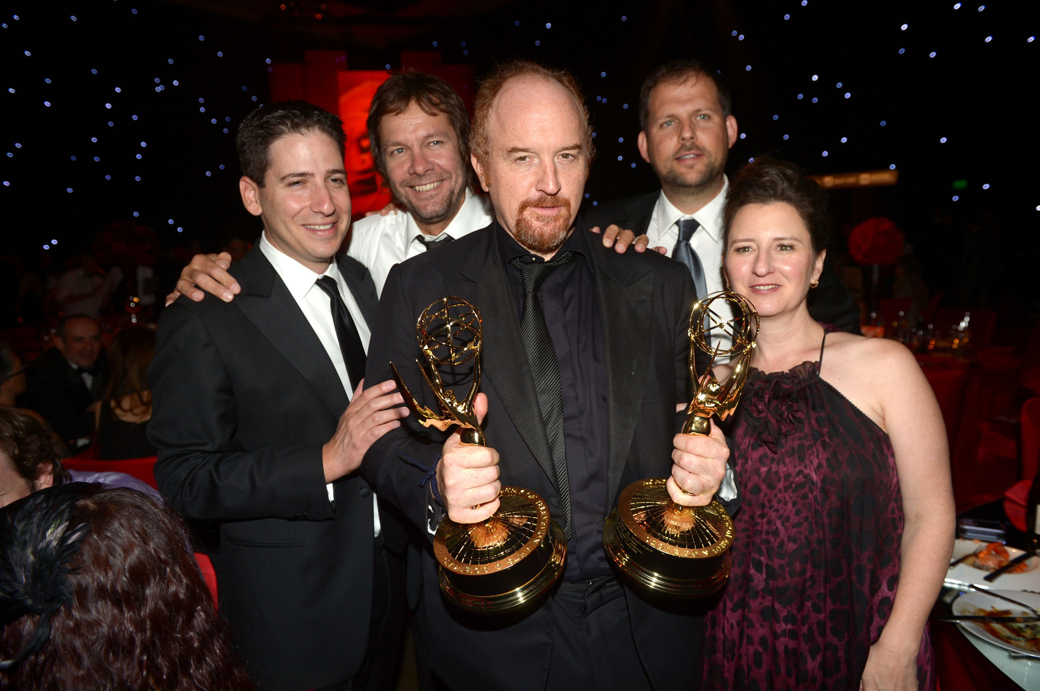 Dave Becky, Blair Breard, Louis C.K. and Nick Grad at event of The 64th Primetime Emmy Awards (2012)
