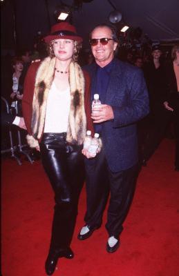 Jack Nicholson and Rebecca Boussard