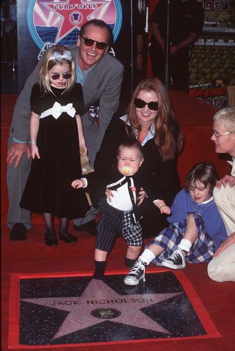 Jack Nicholson, Rebecca Broussard and Lorraine Nicholson