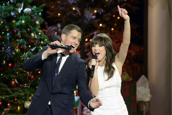 Still of Michael Bublé in Michael Bublé: Home for the Holidays (2012)