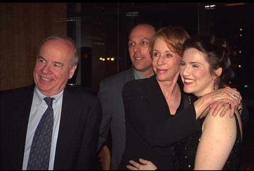 Hollywood Arm, Broadway opening night with Carol Burnett and Tim Conway