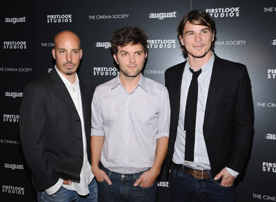 Josh Hartnett, Adam Scott and Austin Chick at event of August (2008)