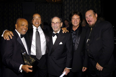 John Fogerty, Smokey Robinson, Steve Cropper, Hal David and Berry Gordy