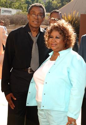 Don Cornelius and Aretha Franklin