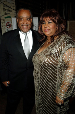 Aretha Franklin and Al Sharpton