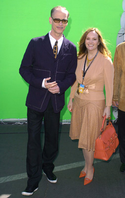 John Waters and Patricia Hearst