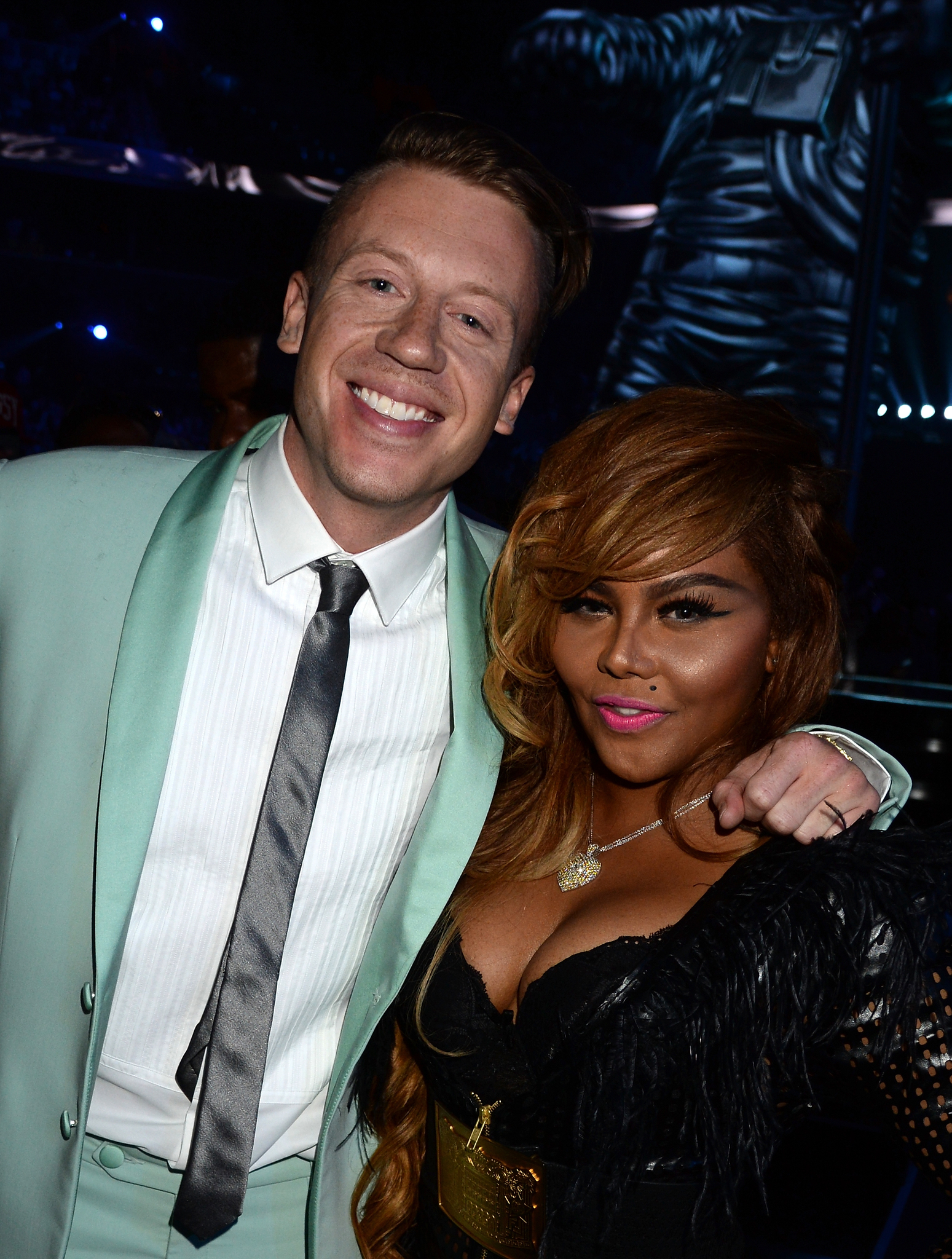 Lil' Kim and Macklemore at event of 2013 MTV Video Music Awards (2013)