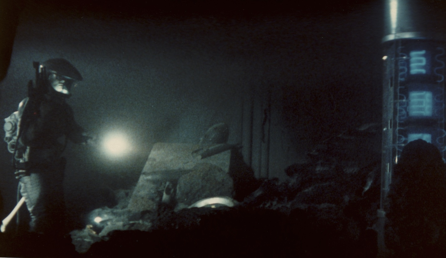 TITAN FIND (aka Creature) 1985