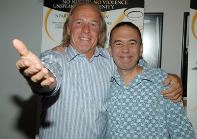Gilbert Gottfried and Jackie Martling at event of The Aristocrats (2005)