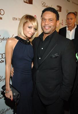 Benny Medina and Nicole Richie