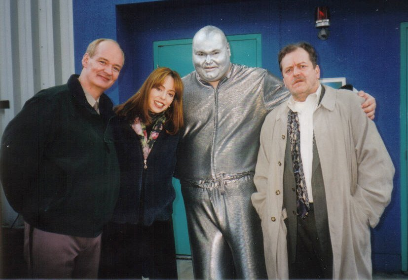 C. Ernst Harth, Colin Mochrie, Mackenzie Phillips and Don Thompson in The Outer Limits (1995)