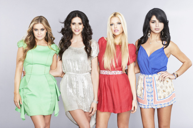 Still of Carmen Electra, Sophie Monk, Hope Dworaczyk Smith and Rima Fakih in The Choice (2012)