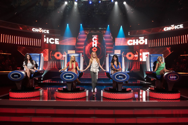 Still of Carmen Electra, Cat Deeley, Sophie Monk, Hope Dworaczyk Smith and Rima Fakih in The Choice (2012)