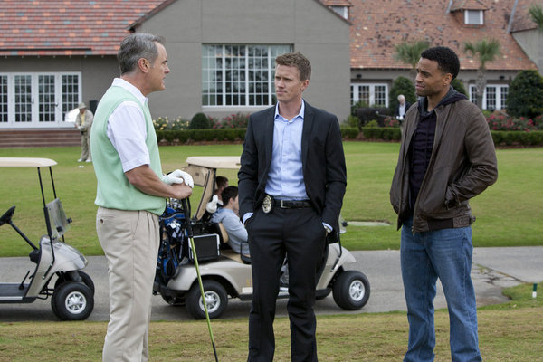 Still of Mark Moses, Michael Ealy and Warren Kole in Common Law (2012)