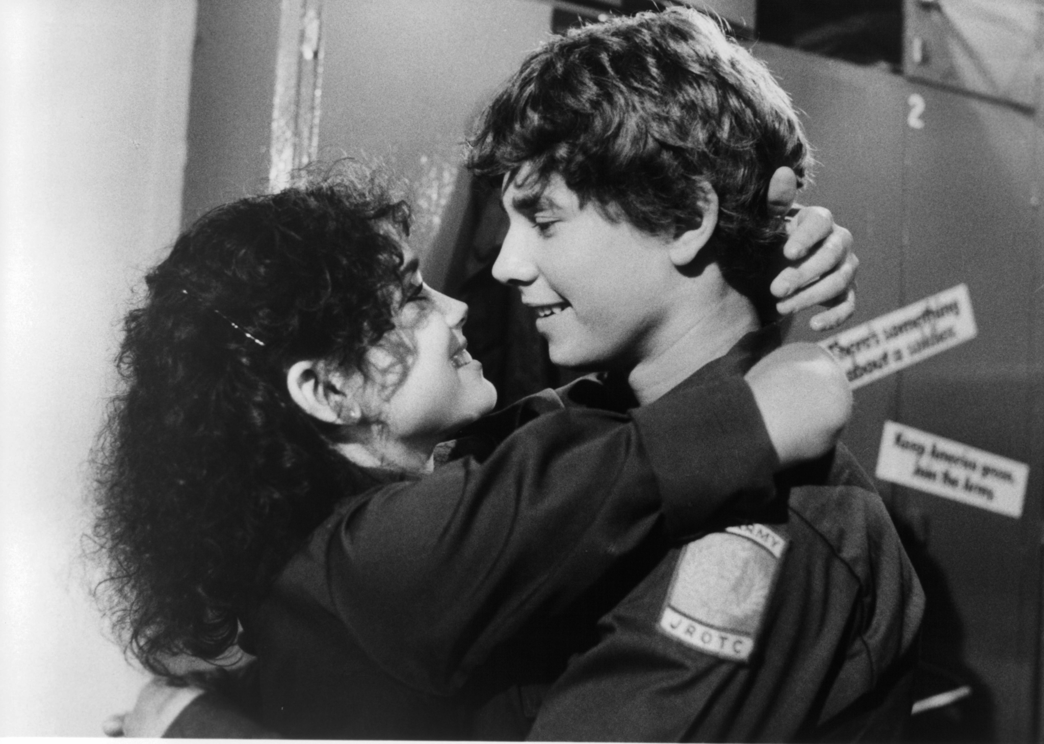 Still of Hutch Parker and Stacey Nelkin in Up the Academy (1980)