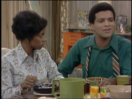 Still of Ben Powers and BernNadette Stanis in Good Times (1974)