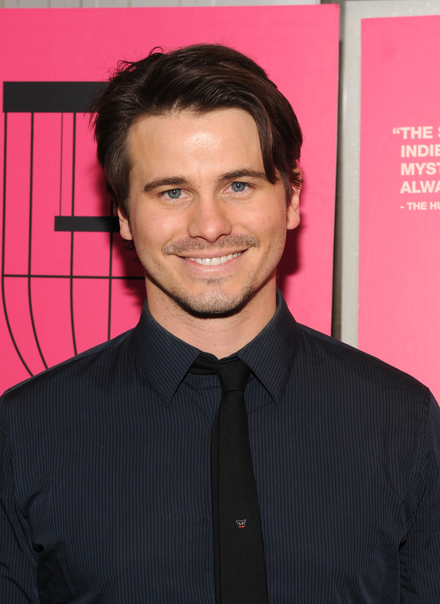 Jason Ritter at event of Wild Canaries (2014)
