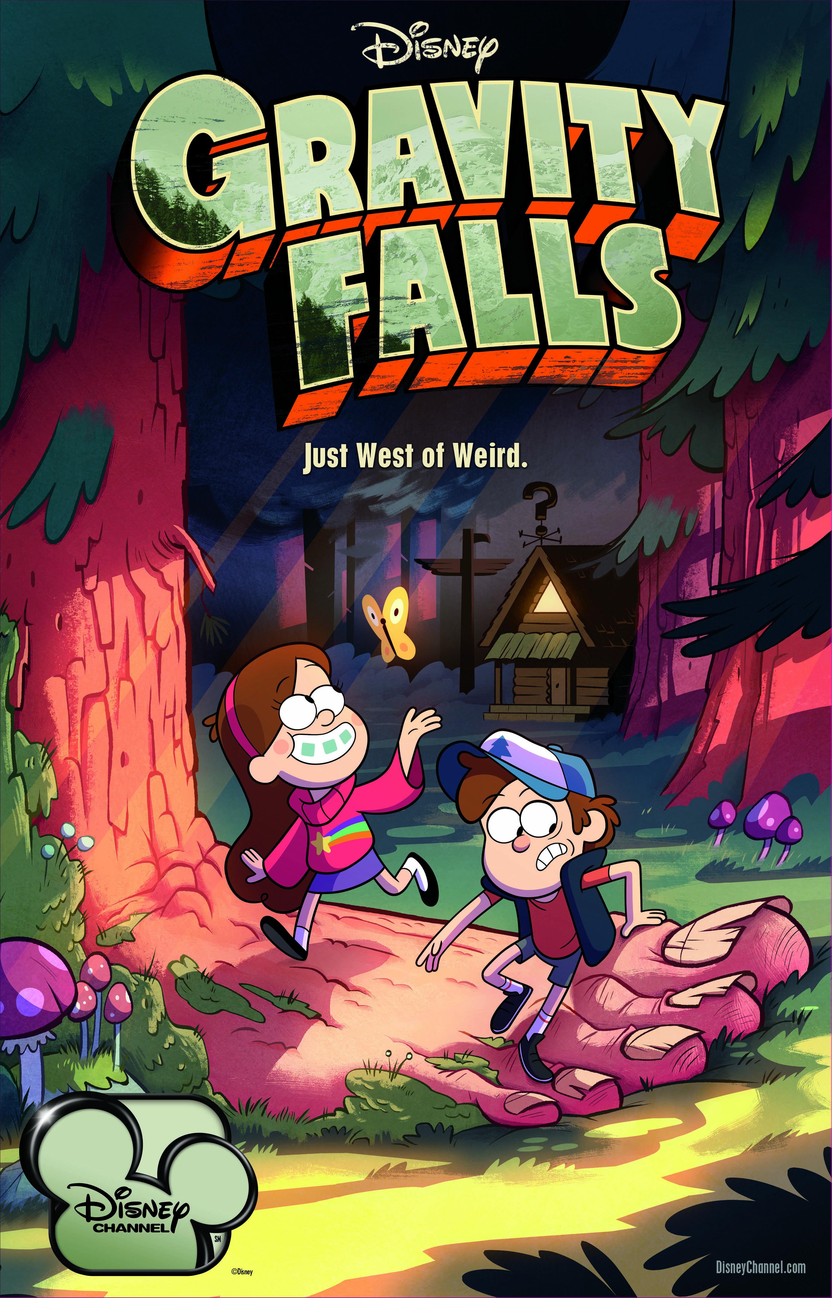 Jason Ritter, Kristen Schaal and Alex Hirsch in Gravity Falls (2012)