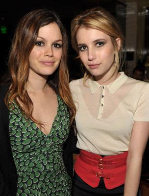 Emma Roberts and Rachel Bilson
