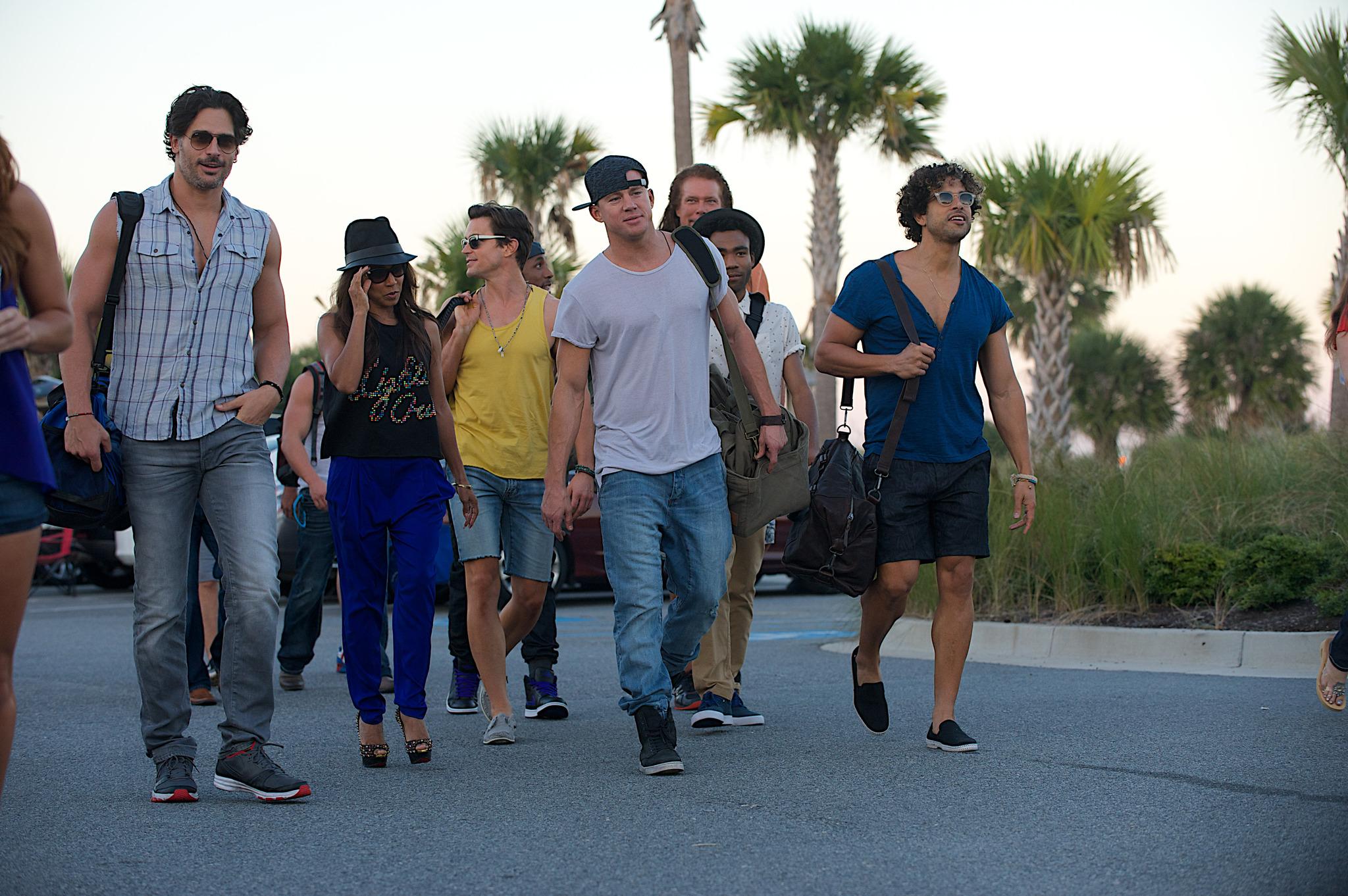 Still of Jada Pinkett Smith, Matt Bomer, Joe Manganiello, Kevin Nash, Adam Rodriguez and Channing Tatum in Magiskasis Maikas XXL (2015)
