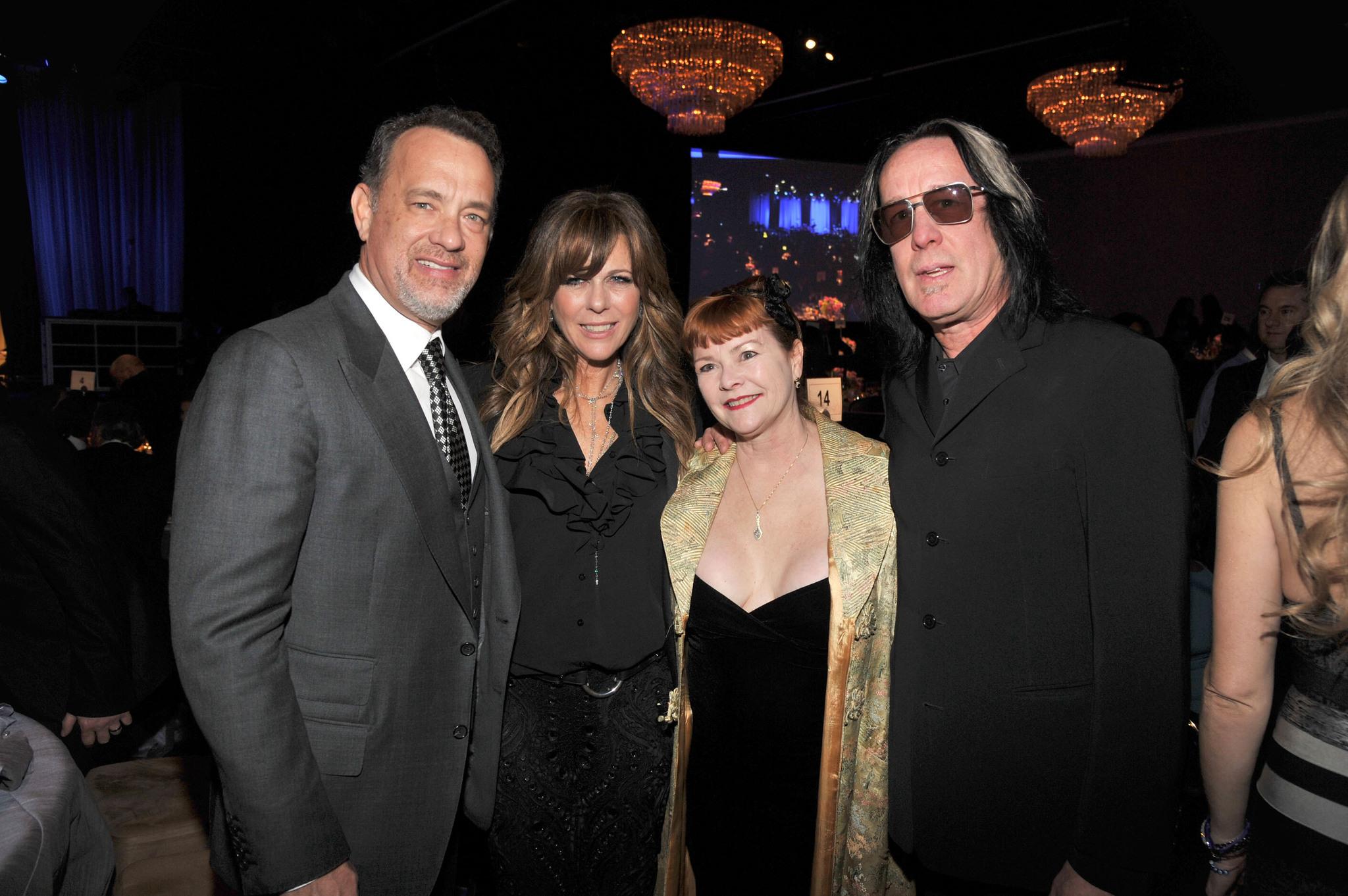 Tom Hanks, Rita Wilson and Todd Rundgren