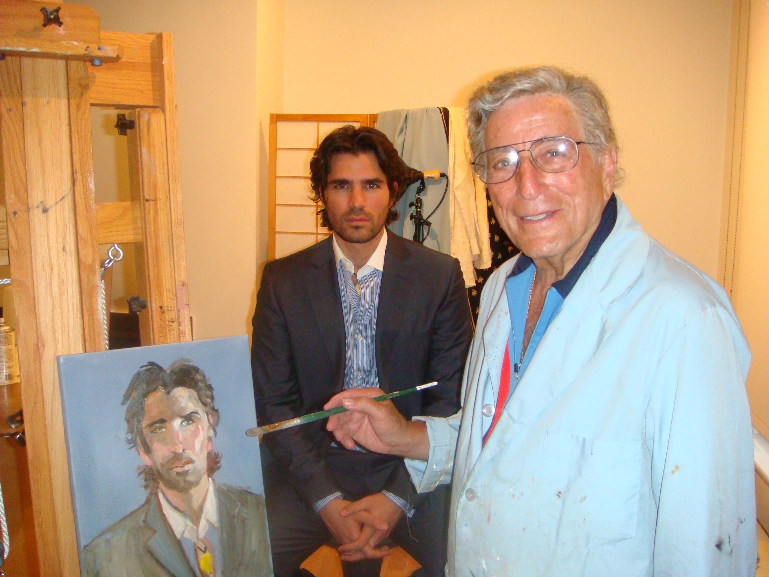 TONY BENNET AND EDUARDO VERASTEGUI.