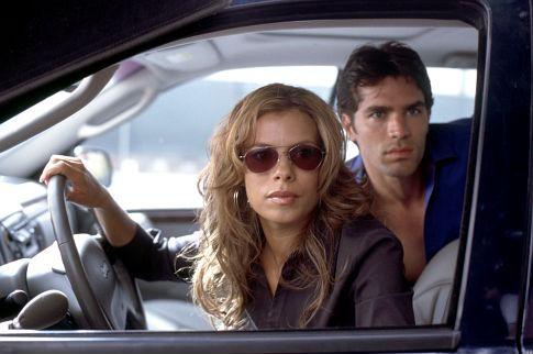 Still of Lisa Vidal and Eduardo Verástegui in Chasing Papi (2003)