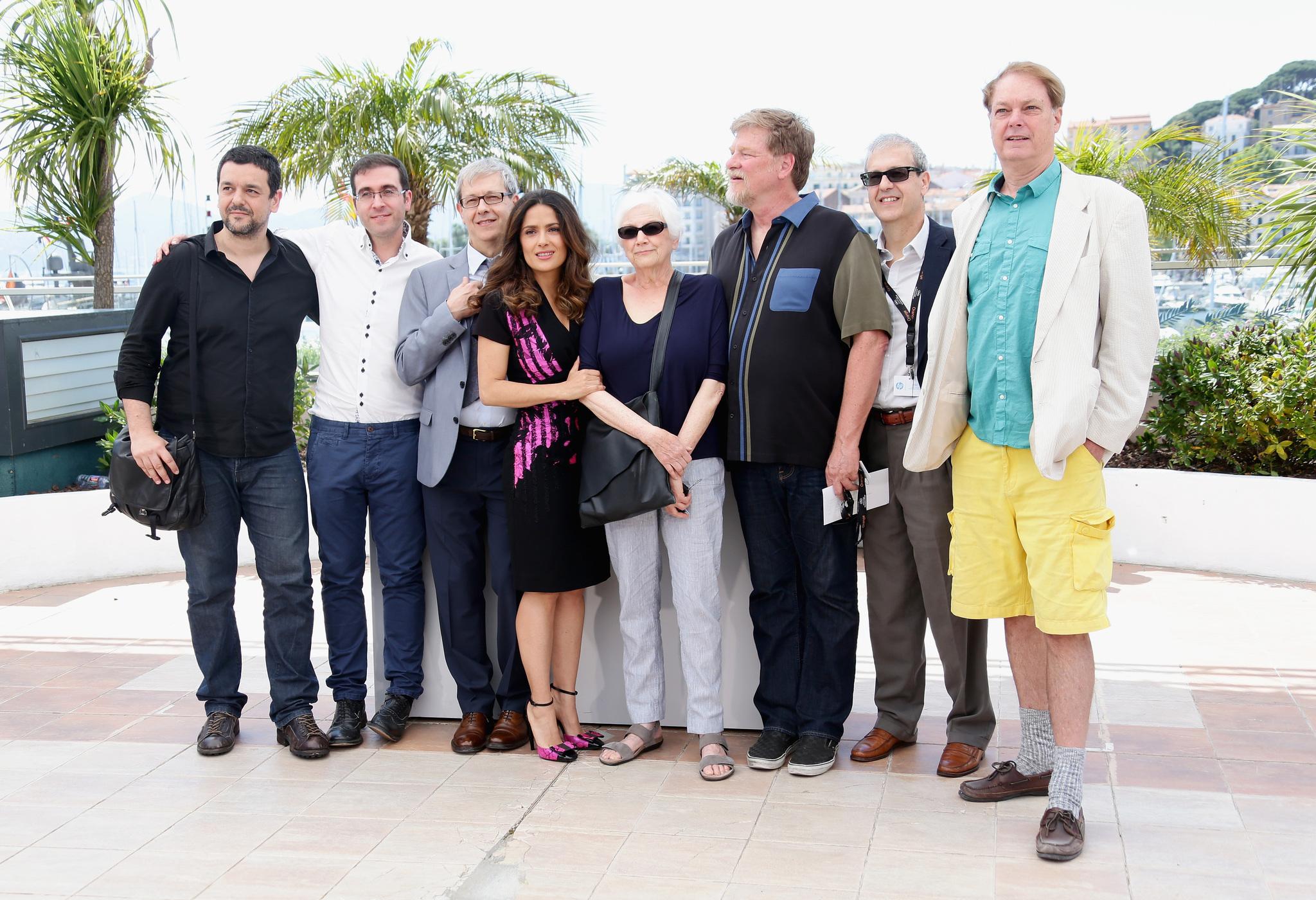 Salma Hayek, Roger Allers, Gaëtan Brizzi, Paul Brizzi, Bill Plympton and Tomm Moore