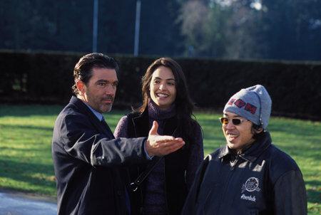 Antonio Banderas, Talisa Soto and director Kaos