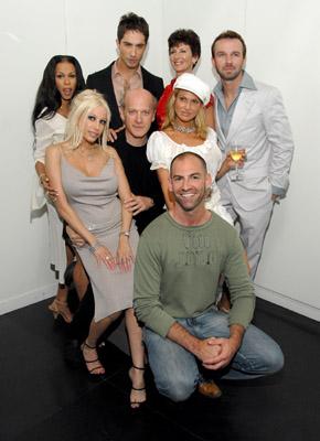 Timothy Greenfield-Sanders, Heather Hunter, Sharon Mitchell, Michael Lucas, Gina Lynn, Chad Hunt and Savanna Samson at event of Thinking XXX (2004)