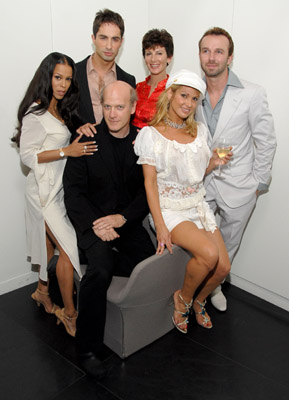 Timothy Greenfield-Sanders, Heather Hunter, Sharon Mitchell, Michael Lucas, Chad Hunt and Savanna Samson at event of Thinking XXX (2004)