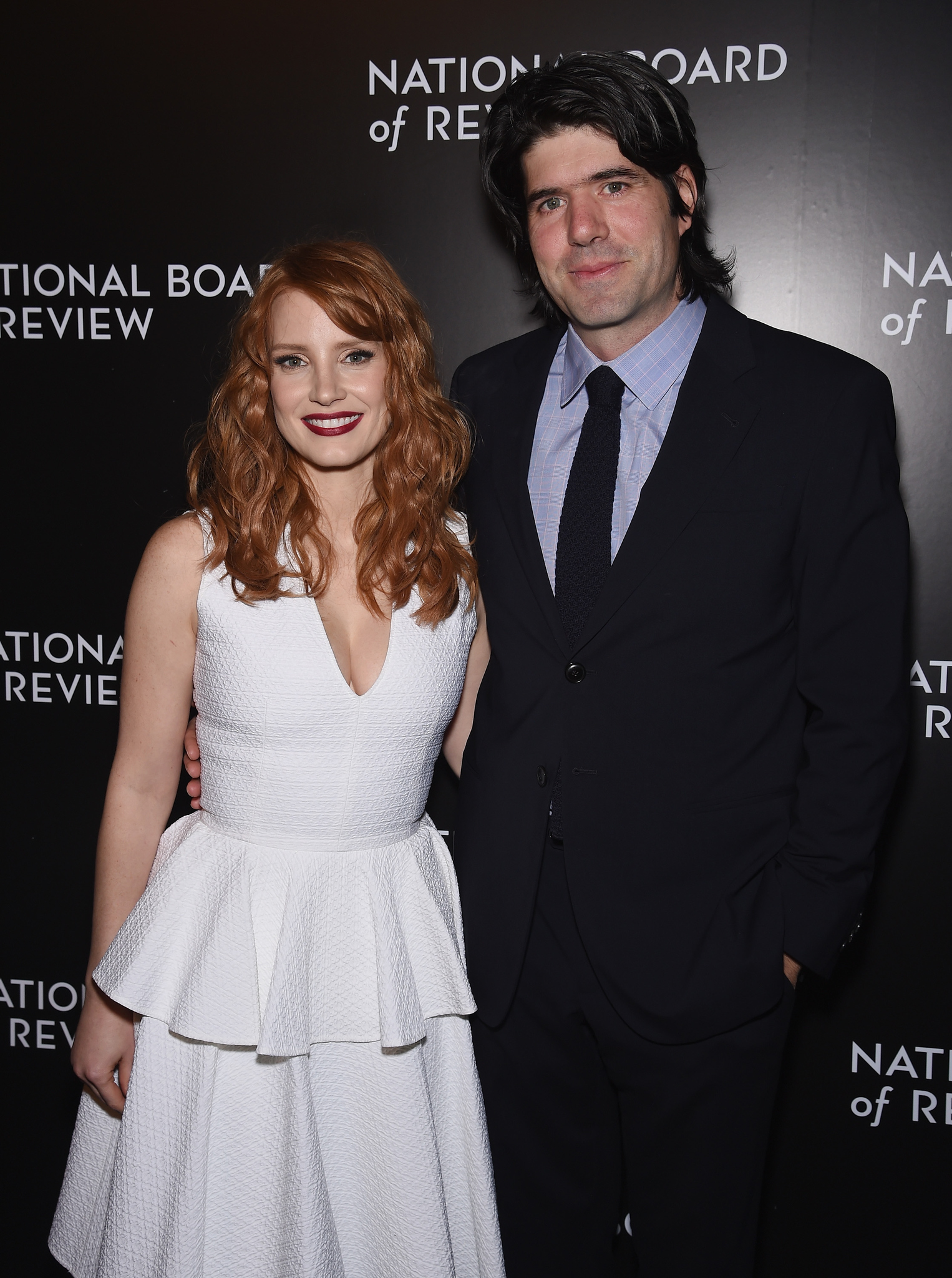 J.C. Chandor and Jessica Chastain