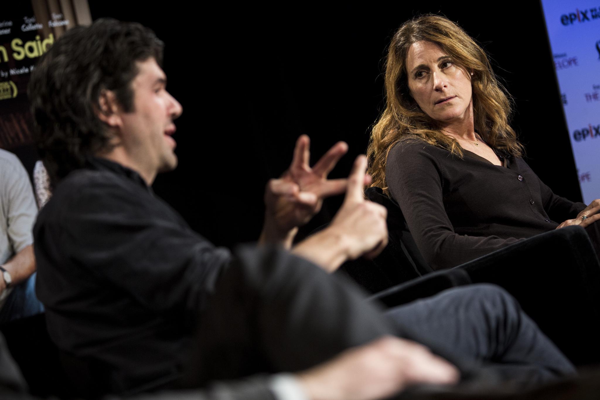 Nicole Holofcener and J.C. Chandor