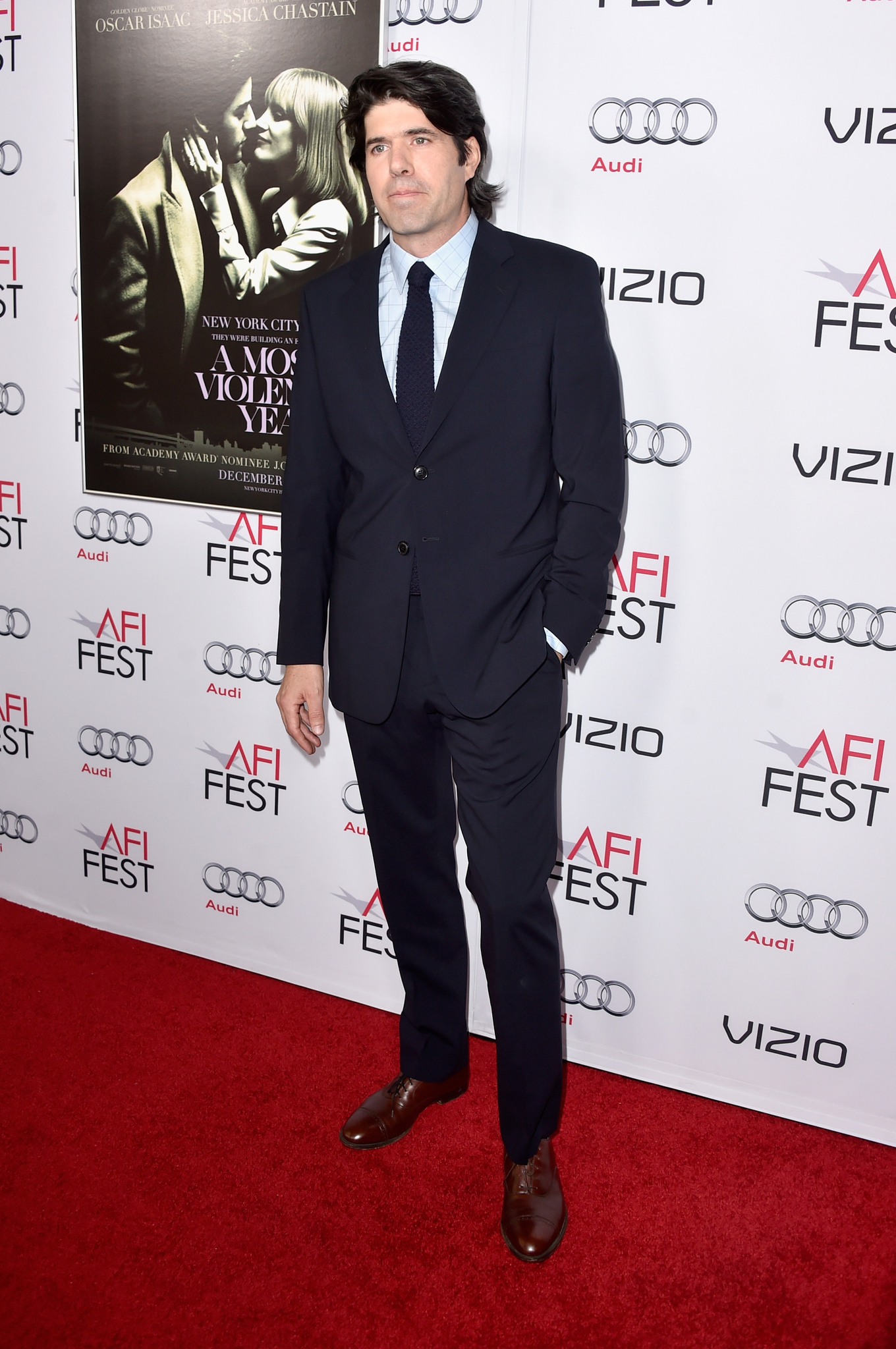 J.C. Chandor at event of A Most Violent Year (2014)