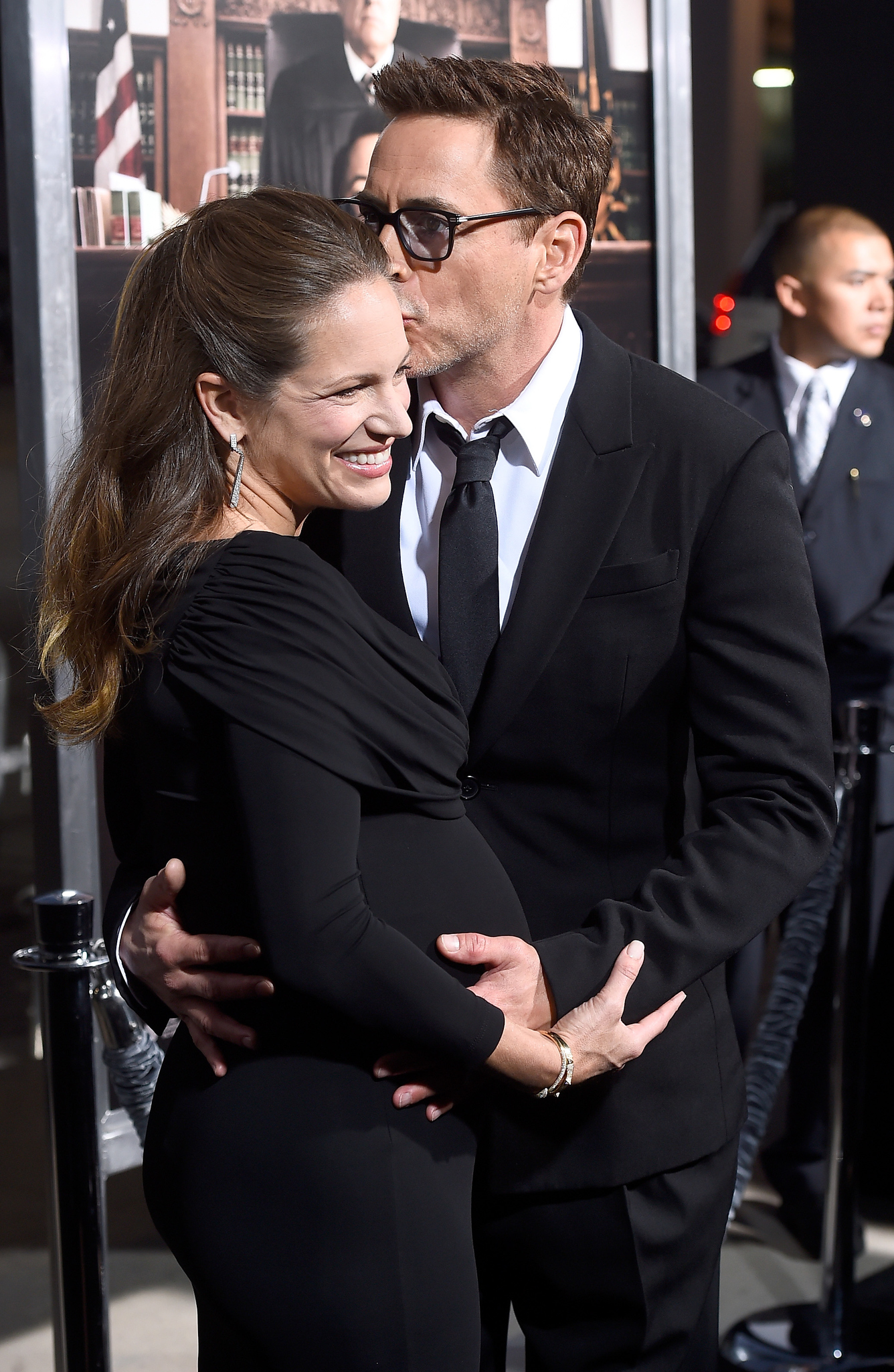 Robert Downey Jr. and Susan Downey at event of Teisejas (2014)
