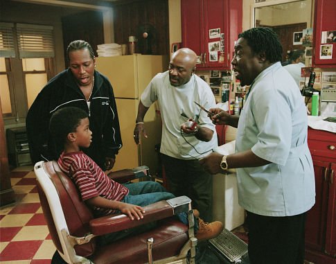 (Left to right) Eddie Levert, Sr. as Joseph, Walter Williams, Sr. as Frank and Eric Nolan Grant as Samuel and (seated) Darrell Vanterpool as Dean.