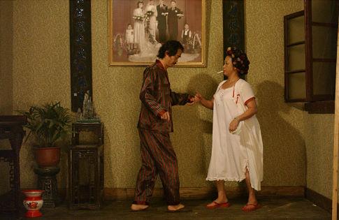 Still of Wah Yuen and Qiu Yuen in Kung fu (2004)