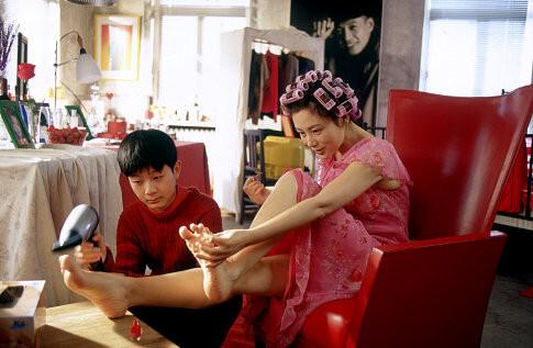 Still of Hong Chen and Yun Tang in He ni zai yi qi (2002)