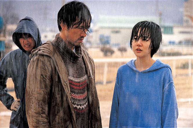 Still of Oh-seong Yu and Su-jeong Lim in Gakseoltang (2006)