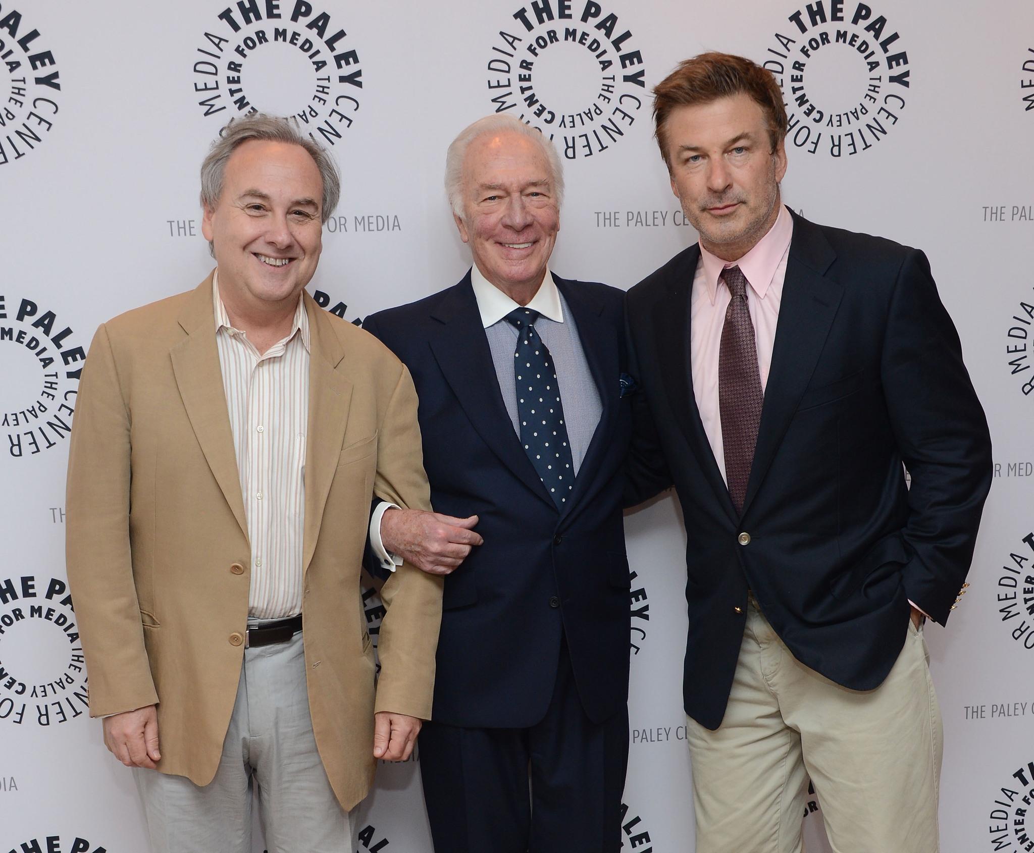 Alec Baldwin, Christopher Plummer and David Edelstein