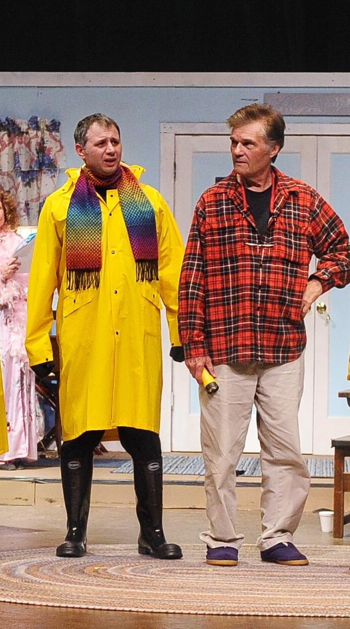 Tony and Fred Willard in