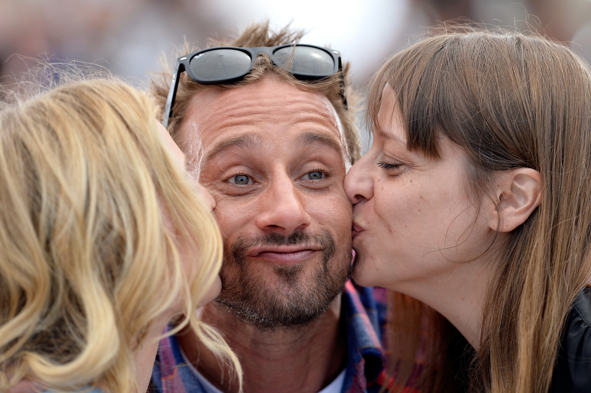 Matthias Schoenaerts, Diane Kruger and Alice Winocour at event of Maryland (2015)